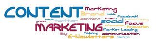 Content marketing Wordle