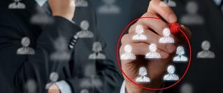 Whiteboard exercise segmenting contacts for lead nurturing